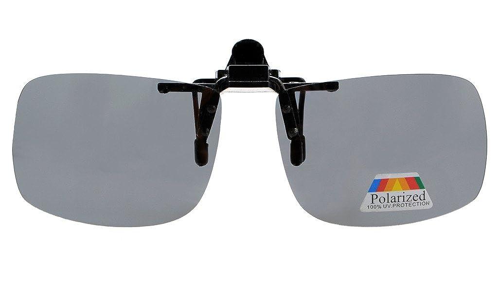 Eyekepper Gafas de Sol Polarizadas Retangulares Volvuetas con Clip