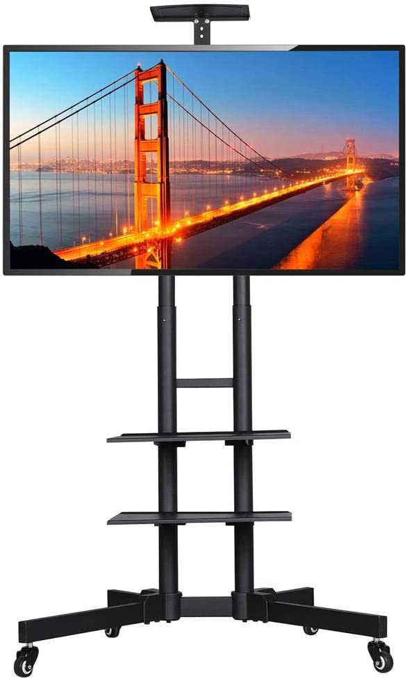Yaheetech - Soporte Universal para TV con Ruedas para televisores de 32 a 65 Pulgadas (Altura Regulable máx. VESA 600 x 400 mm.: Amazon.es: Hogar