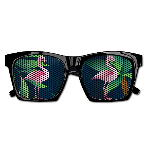 Flamingo Funny Mesh Lens Sunglasse Resin Frame Party Favors Fancy Favor - Rimmed Owl Glasses