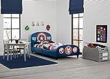Delta Children Upholstered Twin Bed, Marvel Avengers