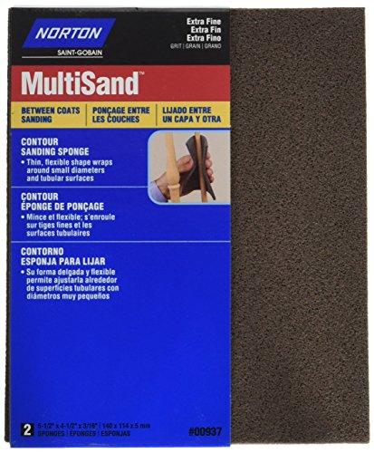 Norton 82082 5X 180 Grit Contour Sanding Pads