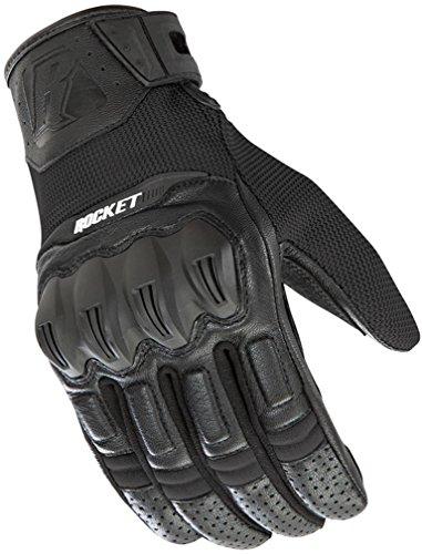 Mesh Rocket Glove Joe Black (Joe Rocket Phoenix 5.1 Motorcycle Glove Black Large)