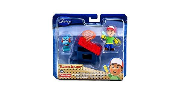 Mattel - Herramienta de juguete Manny Manitas (Mattel GmbH): Amazon.es: Juguetes y juegos