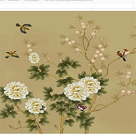 Sproud Custom 3d Sfondo Verticale Classico Stile Dipinti Fiori E