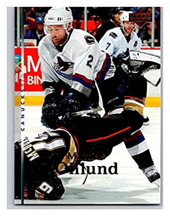 Amazon.com  2007-08 Upper Deck  39 Mattias Ohlund Canucks ... a0108400b