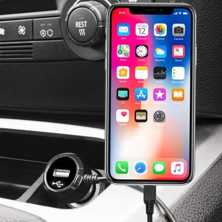 Olixar Cargador de Coche iPhone XS MAX Lightning: Amazon.es ...