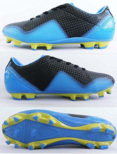 Black, Blue & Yellow Laser Soccer Cleats (9 Men\'s, 10 Women\'s)