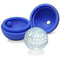 Romote Muerte de Star Wars de Silicona del Molde de Hielo Bandeja del Cubo de Bola Modelo de Esfera de Moldes Party,1Pcs,Azul