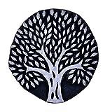 Tree Design Indian Handmade Decorative Stamp Wooden Textile Scrapbook Potter Craft Printing Block