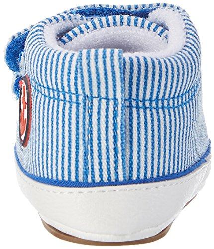 Sterntaler Baby-schuh - Zapatillas de casa Bebé-Niñas Blau (Blau)
