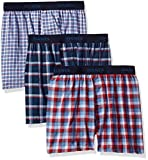 Hanes Big Boys' Ultimate ComfortSoft Plaid Boxers (3 Pack)