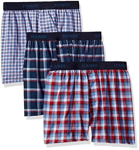 Hanes Big Boys' Ultimate Comfortsoft Plaid Boxers