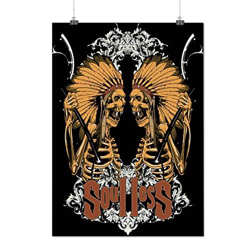 Soul Less Indian Dead Battle Axe Matte/Glossy Poster A3 (12x17 inches) | Wellcoda (Dragon Battleaxe)