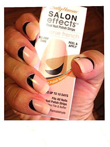 Amazon.com: Sally Hansen Salon Effect Real Nail Polish Strips ...