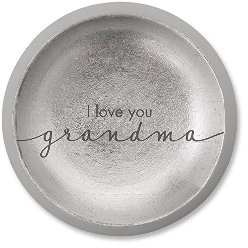 Pavilion Gift Company 42126 I Love You Grandma Cement Keepsake Dish, 5