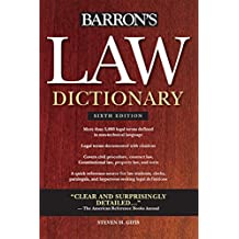 Law Dictionary (Barron's Law Dictionary (Quality))