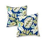 outdoor accent pillows - Greendale Home Fashions 17 in. Outdoor Accent Pillow (set of 2), Marlow