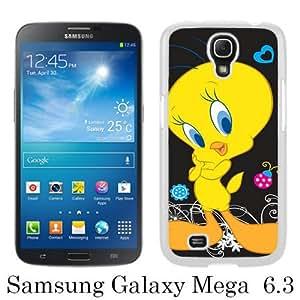 tweety bird White Personalized Photo Custom Samsung Galaxy Mega 6.3 Cover Case
