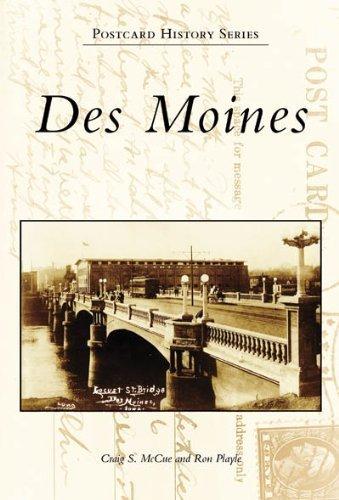 Des Moines (IA) (Postcard History Series) by Craig S Mccue - Des Moine Mall