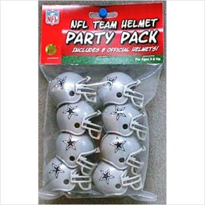 Dallas Cowboys Team Helmet Party Pack -