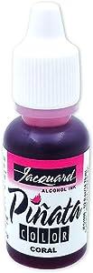 Jacquard Products Jacquard Pinata Color Alcohol Ink .5oz-Coral
