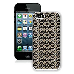 Genuine Custom Protective Phone Case Michael Kors White iPhone 5 5S Phone Cover Case A1 020