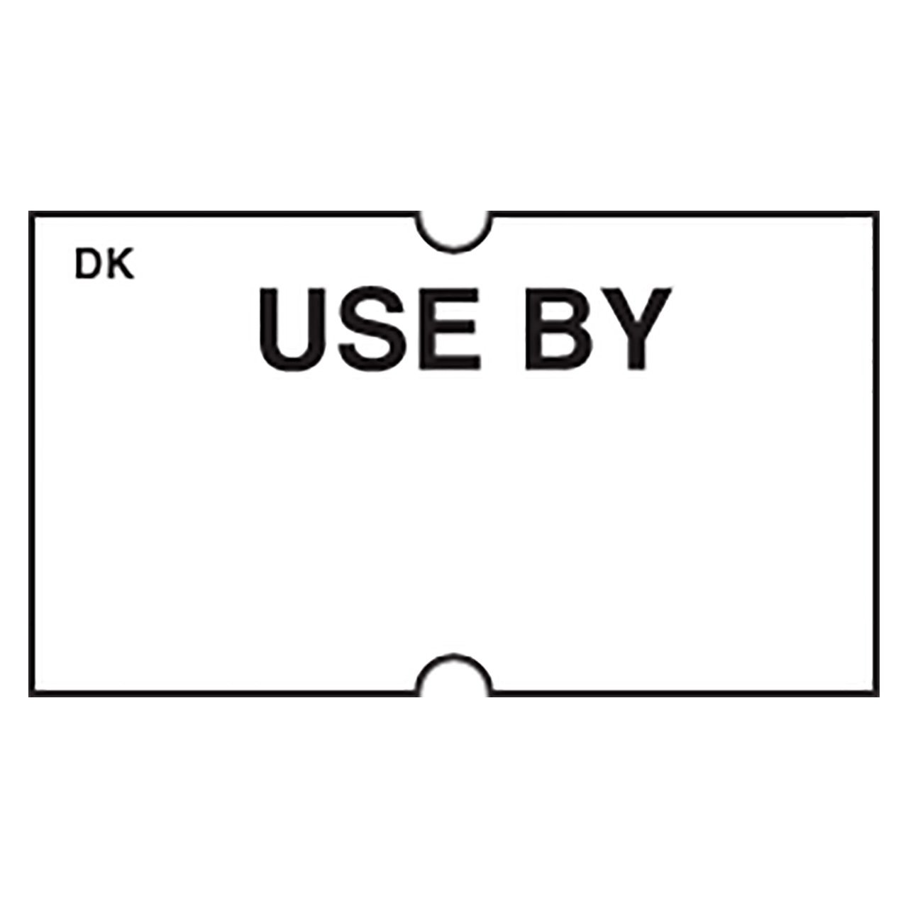 "DayMark Date Coder Permanent""USE BY"" Label, For DM3 SpeedyMark 10 1-Line Marking Gun, White (8,000 Labels)"
