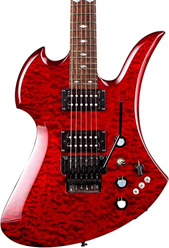 B.C. Rich Mockingbird Set Neck with Floyd Rose Electric Guitar Transparent Black Cherry
