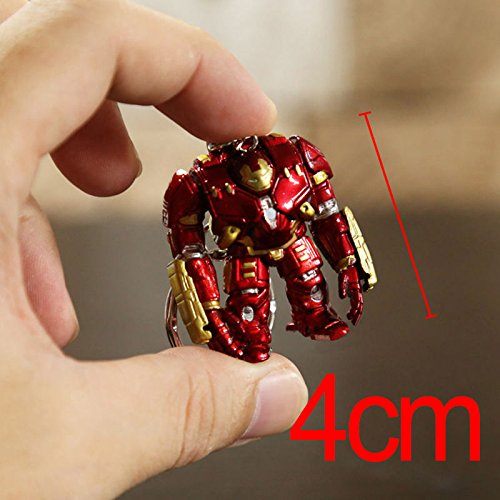 [Marvel Avengers 2 Age of Ultron IRON MAN HULKBUSTER 4cm figure keychain] (The Avengers 2 Scarlet Witch Costume)