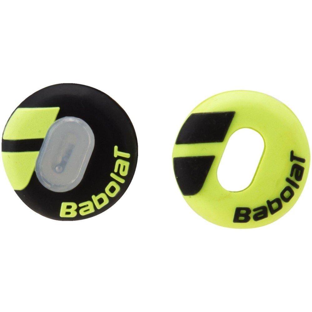 Babolat antivibración Custom Damp X2amarillo negro–Equipo de tenis