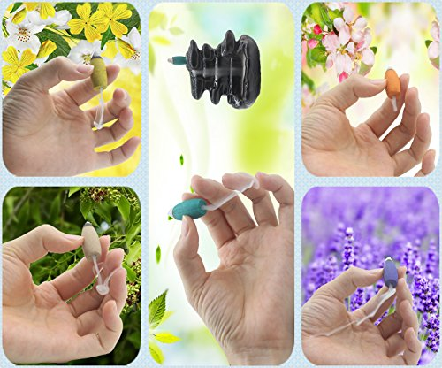 100 Pcs Backflow Incense Cone Mixed 5 Kinds Green Tea Incense Osmanthus Incense Jasmine Incense Lavender Incense Sandalwood Waterfall Cone Backflow Incense Kitchen Fragrant Cones