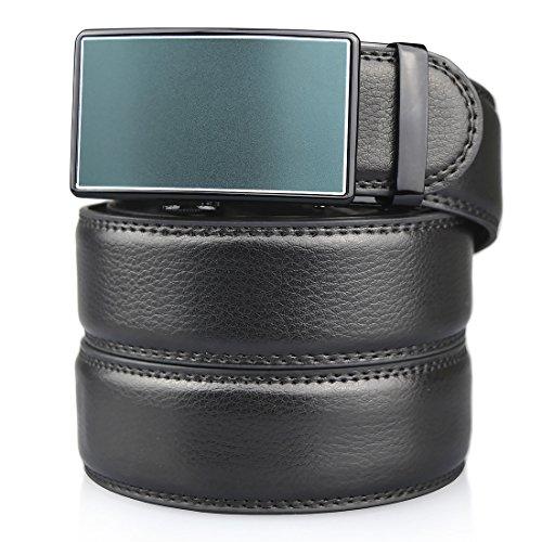 mens-genuine-leather-ratchet-dress-belt-with-automatic-buckle-ratchet-belt-138-widthblue