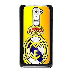 Exquisite Imperial Crown Real Madrid CF Phone Case Cover for LG G2 Real Madrid Awesome Logo Design