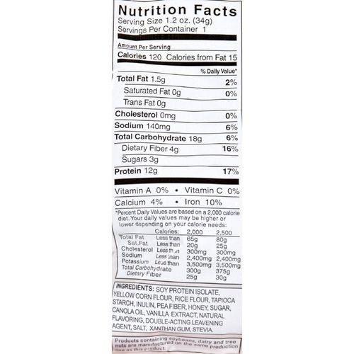 Cereal, Hi Protein, Fr Van, Gf, 1 oz ( Value Bulk Multi-pack)