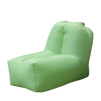 Amazon.com: Sillón hinchable portátil, sofá cama con ...