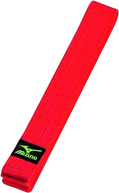 Cintura Mizuno Rosso Judo Red belt