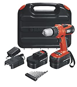 Black & Decker HPD18AK-2 18-Volt High Performance Drill