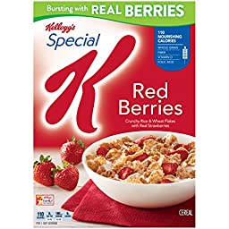 Special K Kellogg\'s Cereal, Red Berries, 11.2 oz