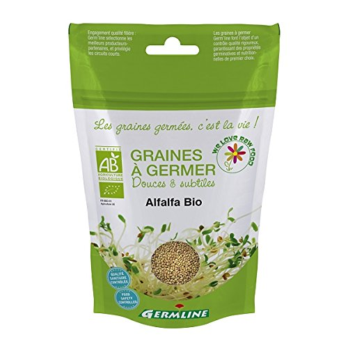 Sprossen-Keimsaat Alfalfa - Bio - 150g