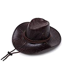 Western Cowboy hat Straw hat Male and Female Breathable hat Casual Punching Sun hat Summer Hats Sun hat Sun Protection