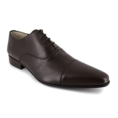 Derby J.Bradford Cuir Marron JB-MIVER - Couleur - Marron