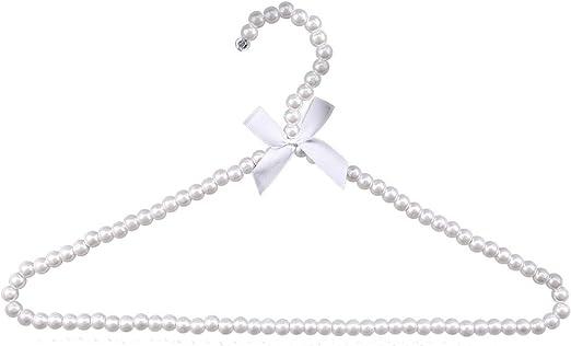 Hongch 1 paquete de ropa percha perla 10KG Peso Rodamiento de ...