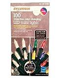 Sylvania 3 Function Color Changing 100 LED Mini Light, Warm White/Multi 3PACK