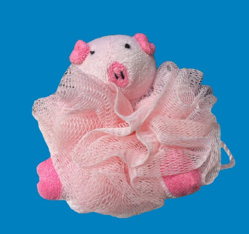 Mesh Sponge with Terry Pig, Health Care Stuffs