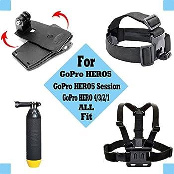 Black Pro Basic Common Outdoor Sports Kit For Gopro Hero 6gopro Fusionhero 5session543+321 Sj400050006000akasoapemandbpowerand Sony Sports Dv & More 8