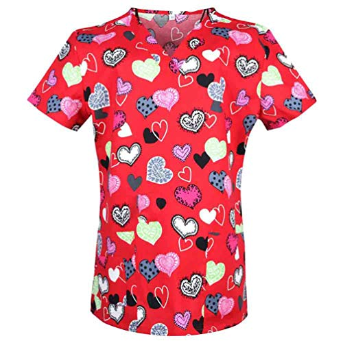 Women Medical Scrub Tops Medical Medical Uniforms Surgical Scrubs Top As Photo 3 L