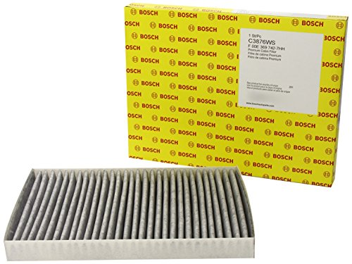 (Bosch C3876WS / F00E369742 Carbon Activated Workshop Cabin Air Filter )