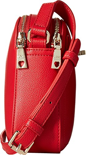 LOVE Moschino Women's Crossbody with Detachable Wristlet Red Crossbody Bag by Love Moschino (Image #2)