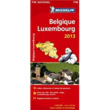 Belgique Luxembourg 716 - Carte nat.