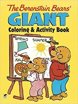 the berenstain bears giant coloring and activity book dover coloring books for children - Berenstain Bears Coloring Book